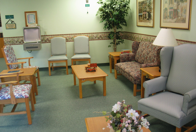 Charlotte Hall Veterans Home visiting room
