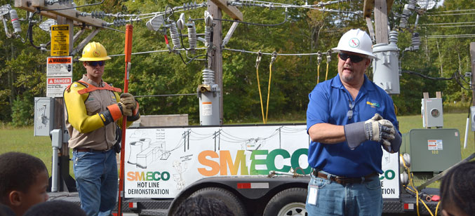 SMECO's Hot Line Demonstration