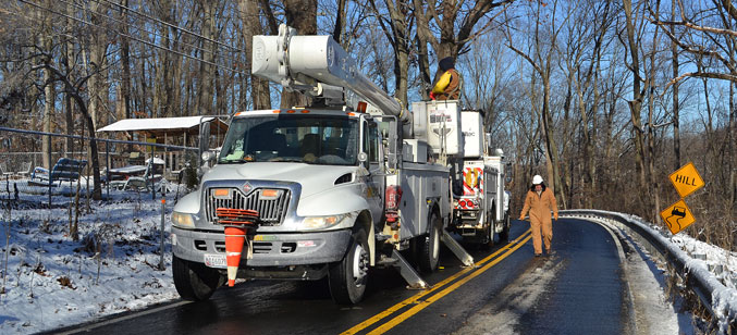 SMECO works to restore power after storms