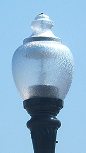 Oldtown Post Top Light